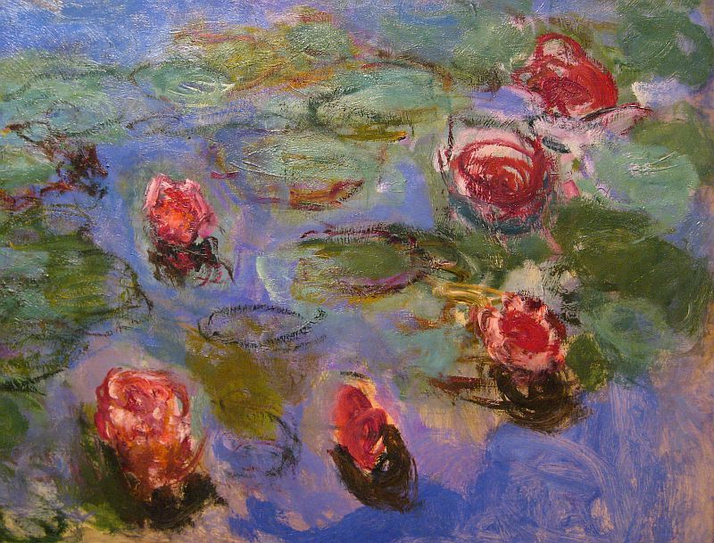claude monet water lilies essay
