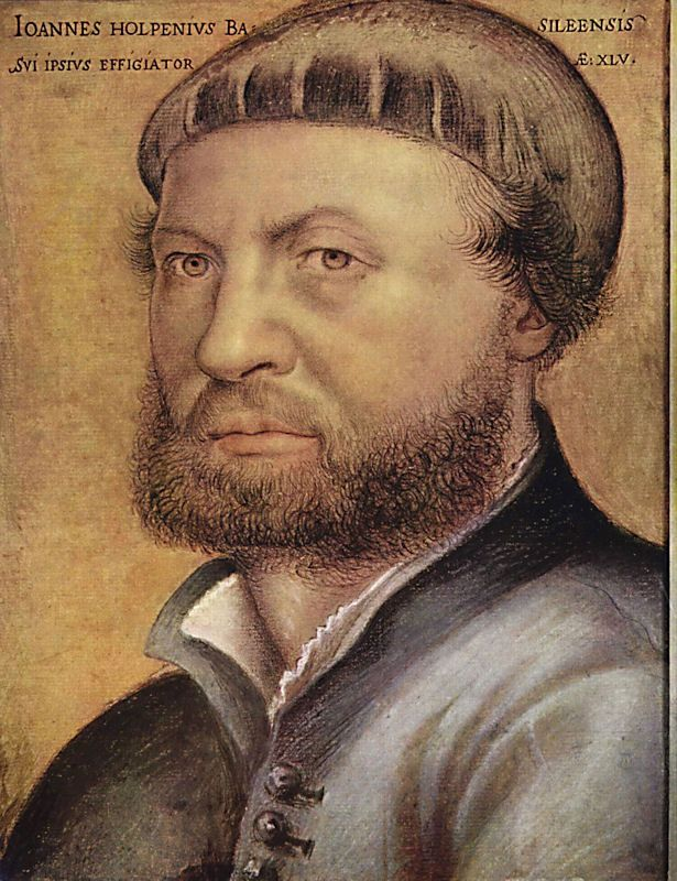 Hans Holbein Self Portrait