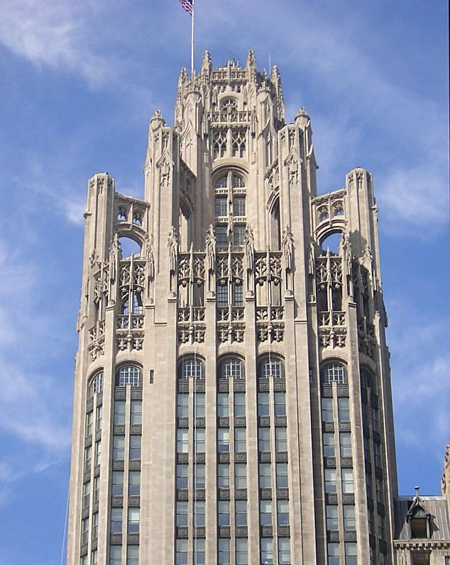 Image result for raymond hood chicago tribune tower
