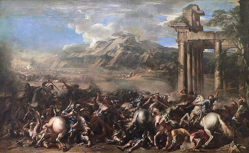 Salvator Rosa Famous Paintings